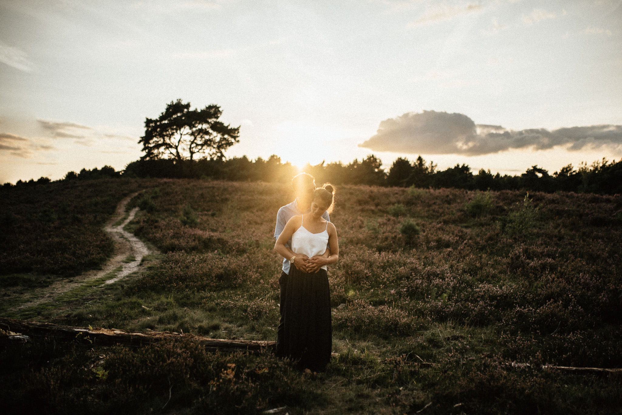 Timo Hess Fotografie - Engagementshooting Brunssummerheide - Hochzeitsreportagen Würzburg - Engagement
